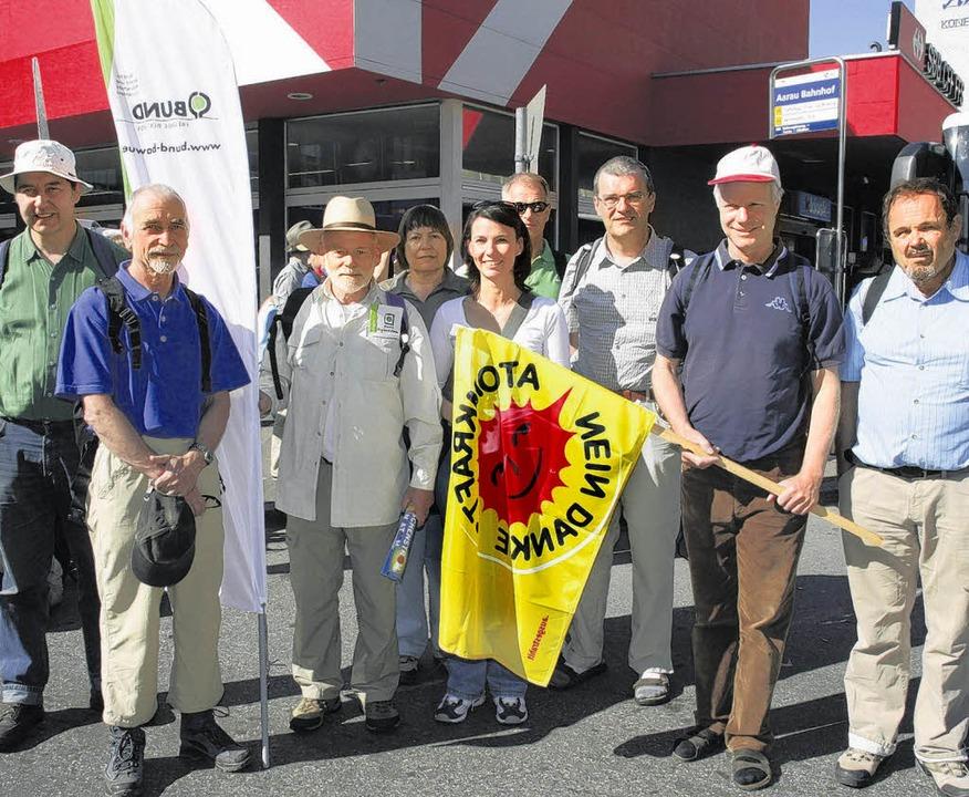 Der Bund-Kreisverband war beim Aarauer... Paul Albiez-Kaiser und Klaus Schiel.   | Foto: Rosa