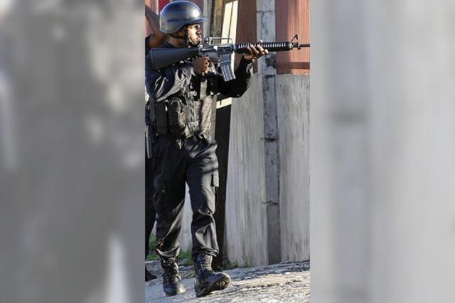 Straßenschlachten in Jamaika