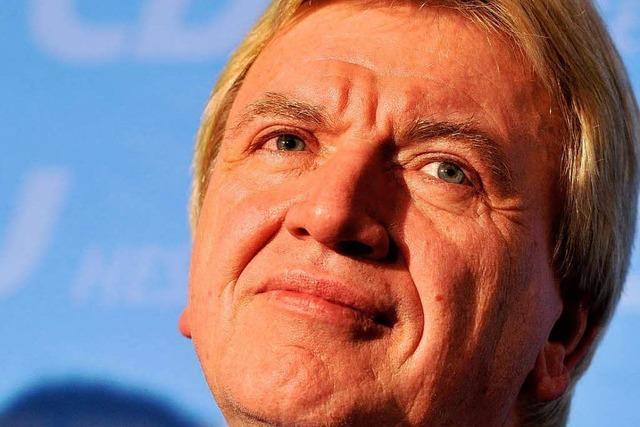 Video: Bouffier soll Koch-Nachfolger werden