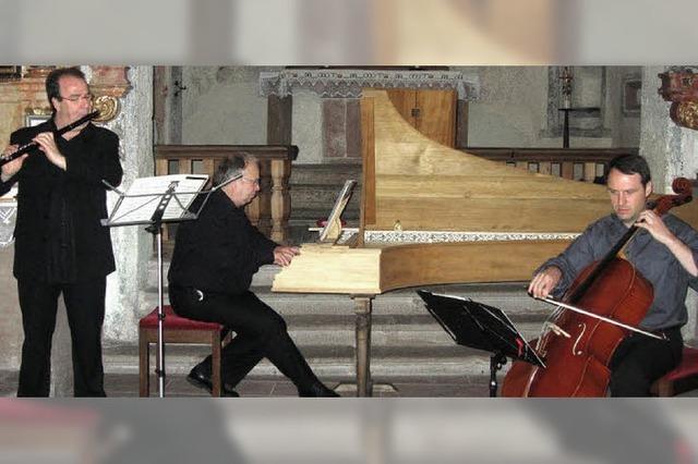 Ein musikalischer Ausflug in den Barock