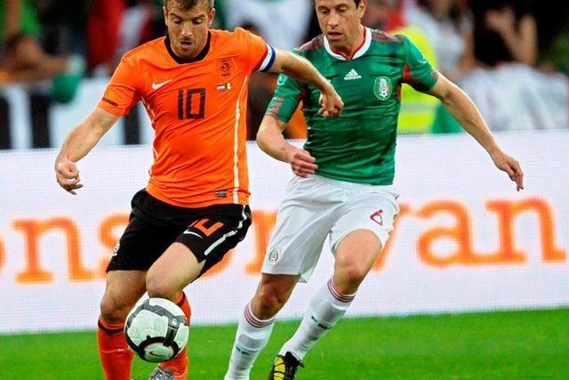 Niederlande – Mexiko 2:1 – ein bisschen WM in Freiburg