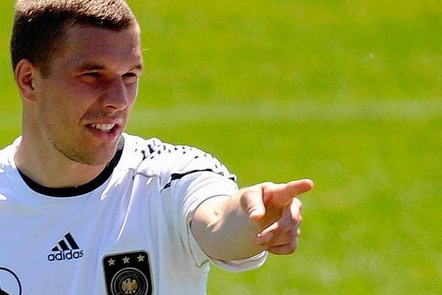 Podolski: DFB-Trikot über-, Sorgen abstreifen