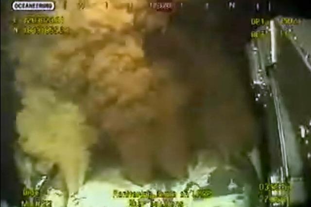 US-Küstenwache: Bohrloch vorübergehend dicht