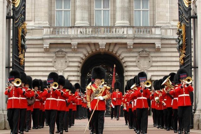 Menzenschwander im Buckingham-Palast