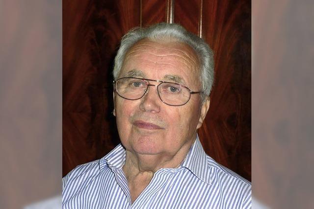 Willi Lehmann wurde 80 Jahre
