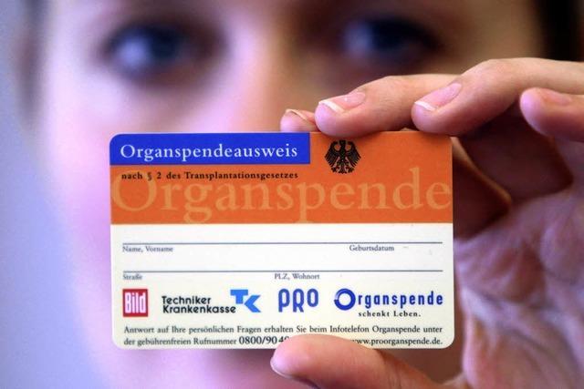 Mit Organen neues Leben schenken