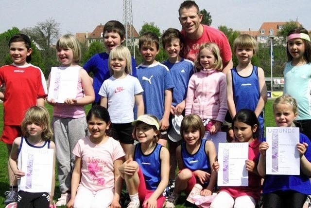 Junge Athleten mit großen Erfolgen