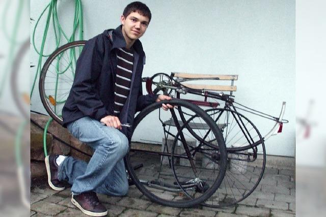 Geschäfte im Fahrradkeller