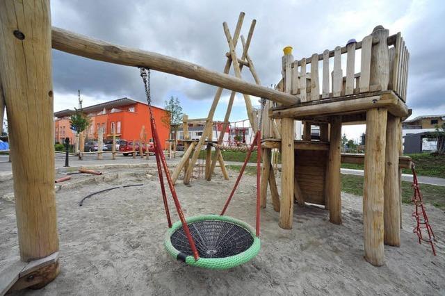 Neuer Spielplatz für Innere Elben in St. Georgen