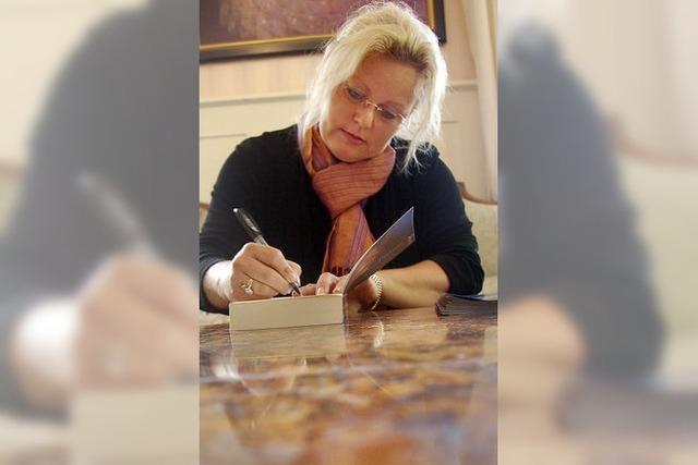 Winterhalter inspirierte die Autorin