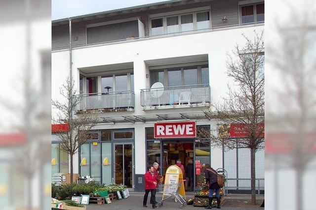 Rewe hoch zwei in Efringen-Kirchen