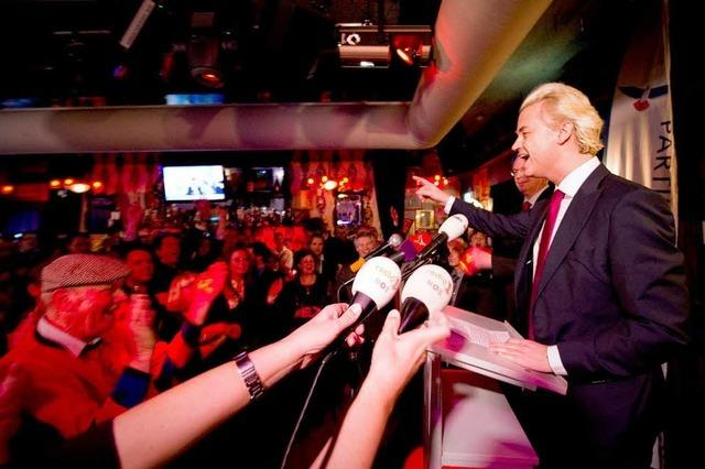 Geert Wilders: Auf der Rutschbahn des Wahlkampfes