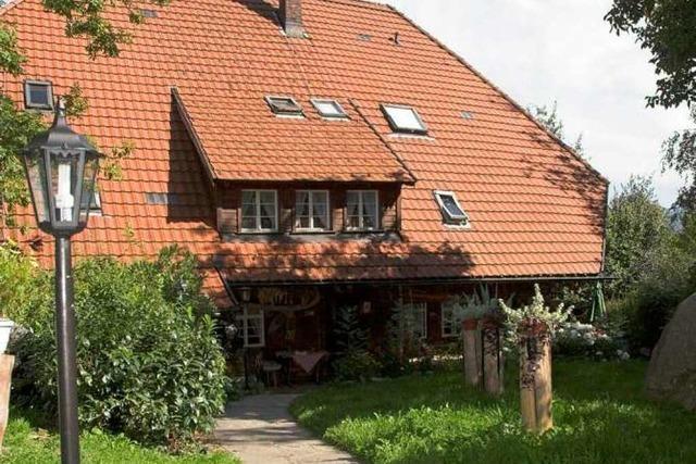 Im Haus Hirtenbrunnen in Fröhnd-Hof gibt's Wildgerichte vom Chef