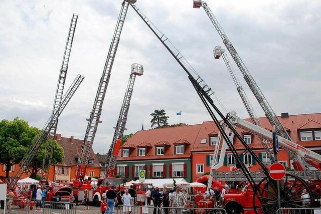 Breisacher Feuerwehr feiert 150. Geburtstag