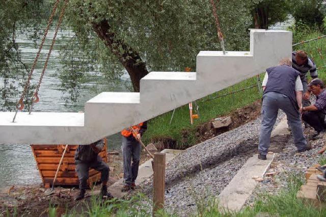 Ab Donnerstag laden die Rheinterrassen ein