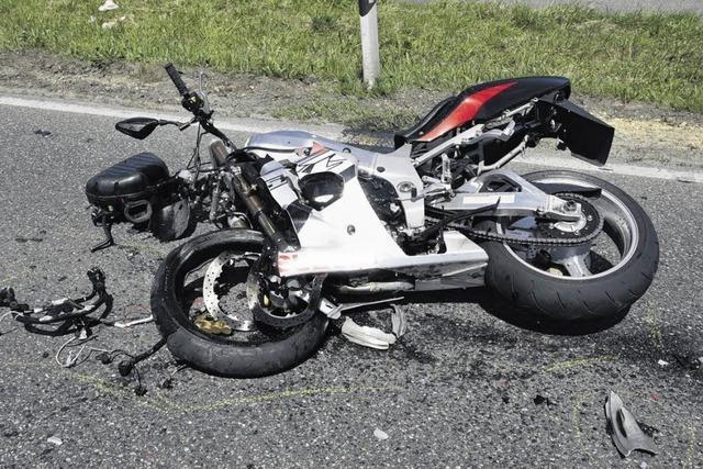 Ausflüge enden für sechs Biker mit Unfällen