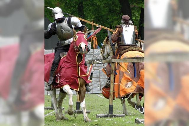 Wo Ritter die Lanze einlegen