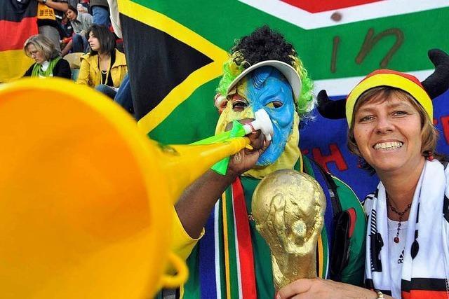 Erstes DFB-Training in Südafrika: