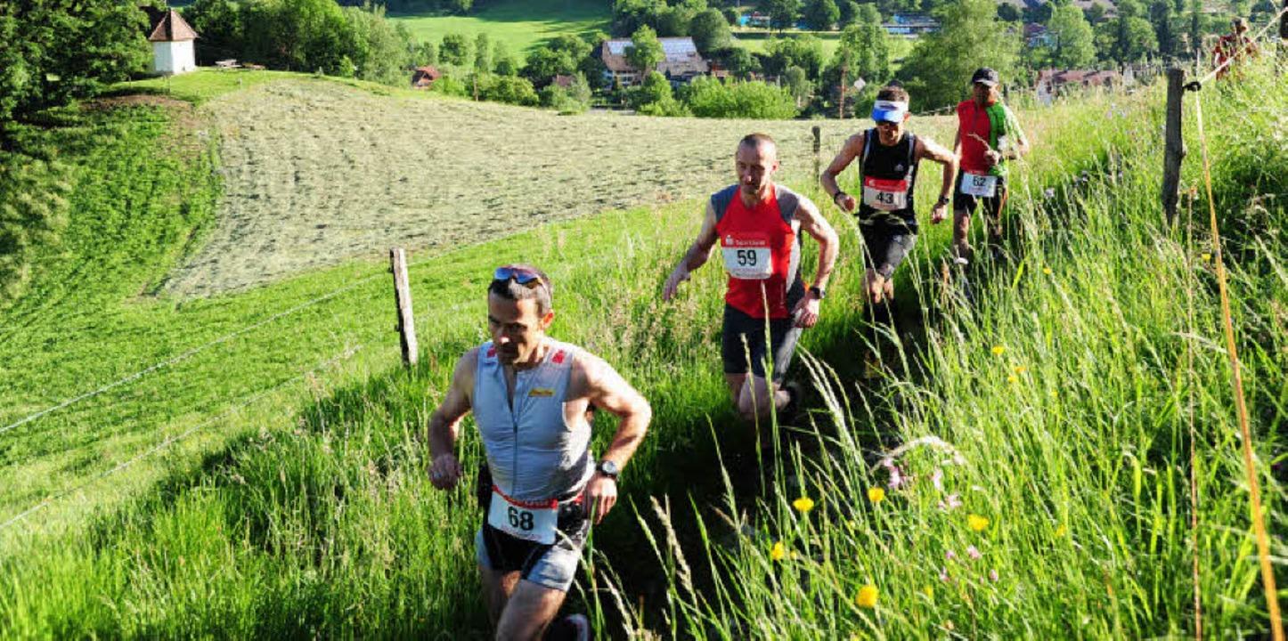 Vom Lauf in traumhafter Landschaft waren alle begeistert.   | Foto: Horst Dauenhauer