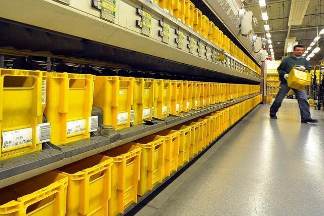 88.000 Briefe pro Stunde: Post baut in Offenburg aus