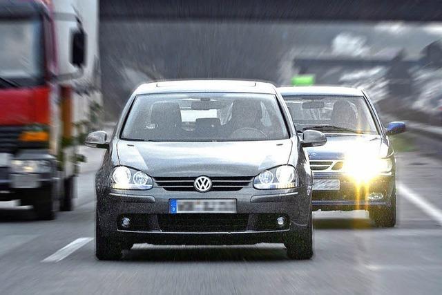 Drängelei und Provokation auf der Autobahn