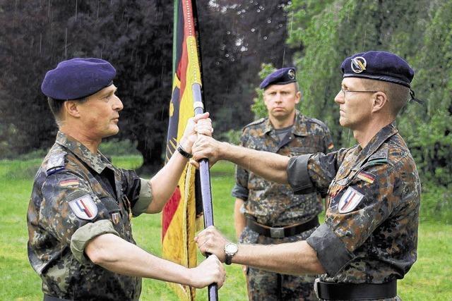 Jägerbataillon 292 hat einen neuen Kommandeur
