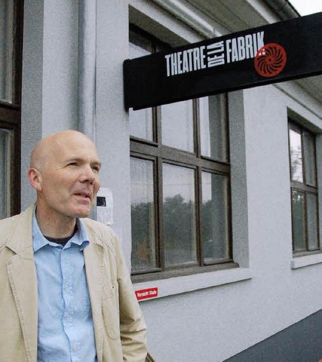 Freddy Allemann ist der Initiator des ...ters in der Hegenheimer Kulturfabrik.   | Foto: Annette Mahro