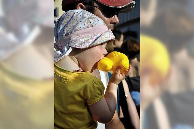 Hunderte sahen gestern Gelb