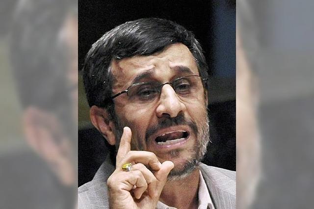 Ahmadinedschad - ein Präsident unter Druck