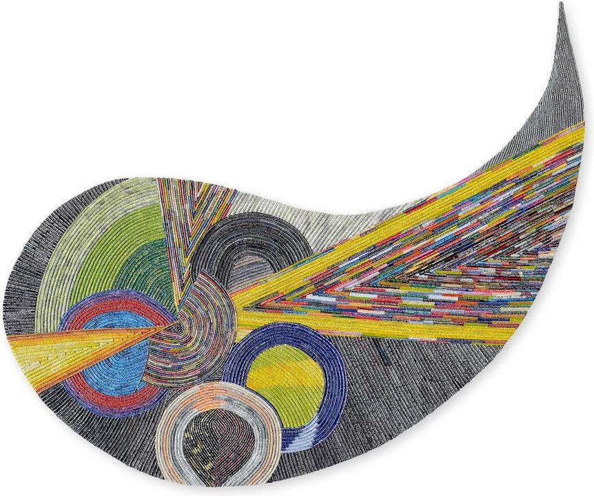 Spiel mit Farben und geometrischen Formen: Liliane Csuka   | Foto: PR