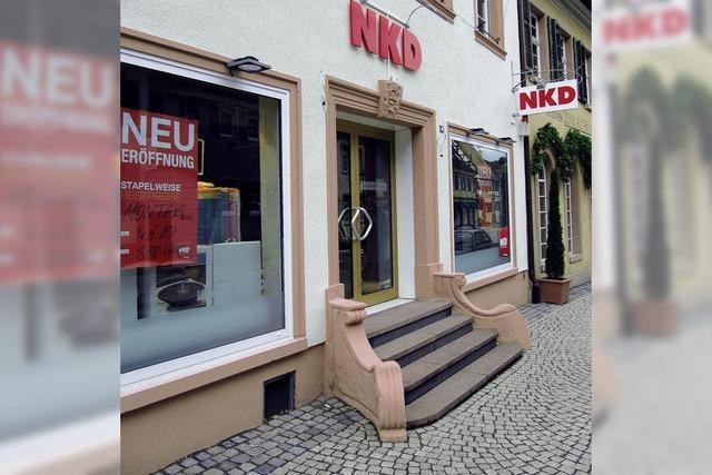 NKD-Filiale in neuen Räumen
