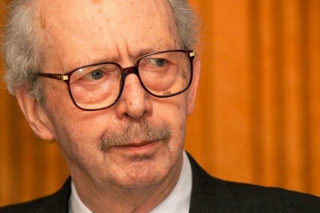 Gedenken: Vor einem Jahr starb Lord Ralf Dahrendorf