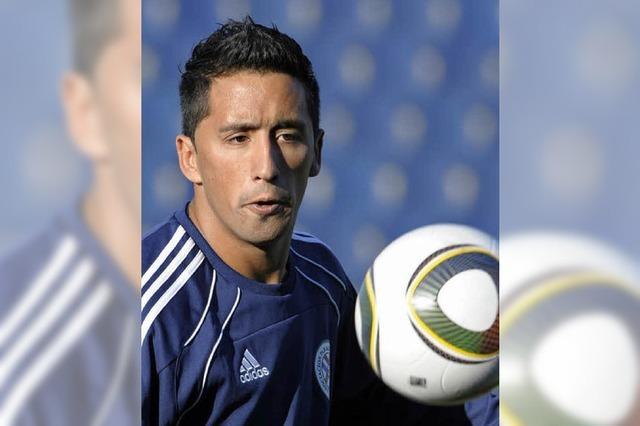 Lucas Barrios im WM-Schaufenster