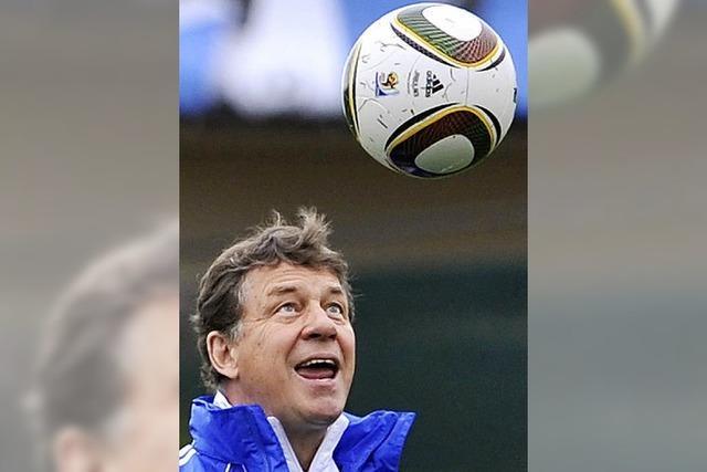 Rehhagel ist nun ältester Trainer der WM-Geschichte
