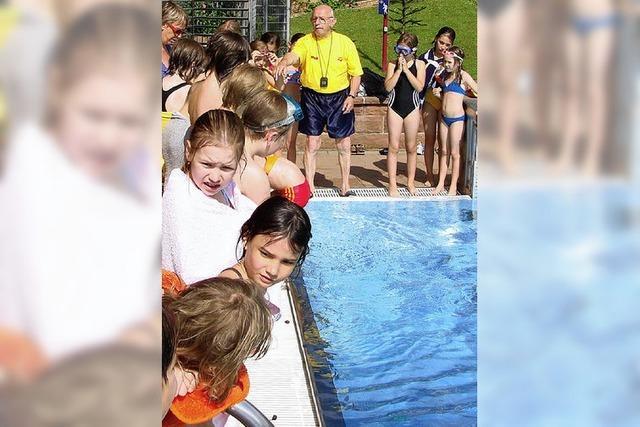 Oberweierer Schüler sind flink im Wasser