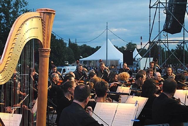 Vivaldi und Pathos auf der Picknickwiese