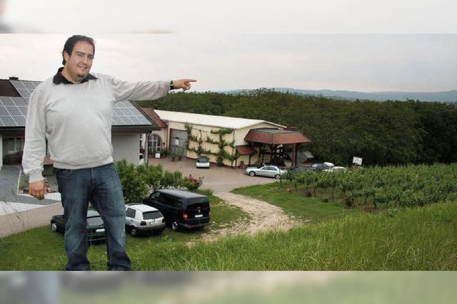 Winzerfamilie Weber will Weinkeller tief im Berg
