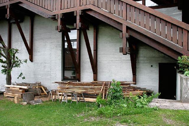Mehr Platz für den Holzbildhauer
