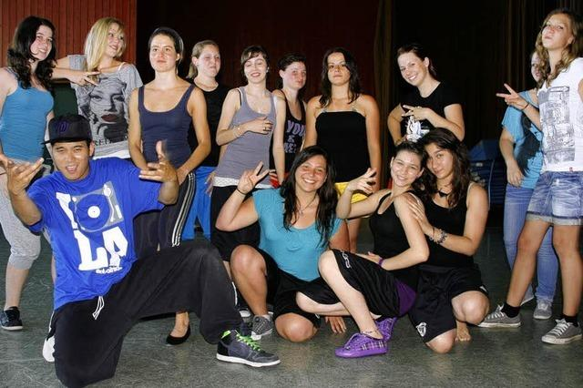HipHop-Workshop interessierte vor allem Mädchen