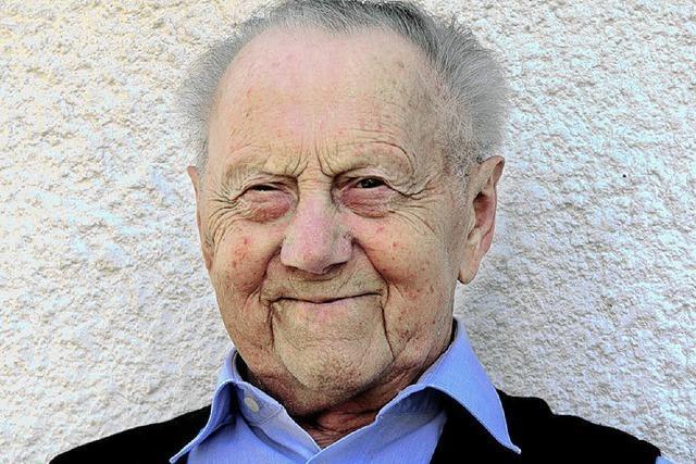 Stefan Faller blickt auf 90 wechselhafte Jahre zurück