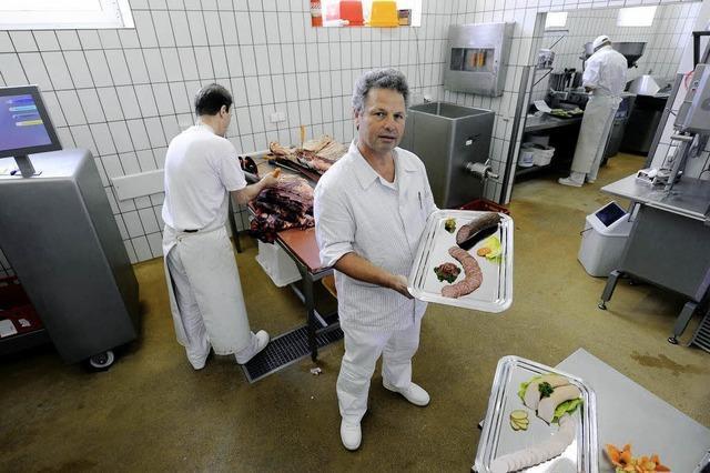 Die Fleischerei hinter Gittern