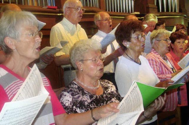 Im 110. Jahr sollen neue Sänger den Altersdurchschnitt senken