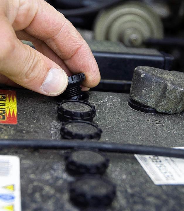 Hier sollen in Zukunft Lithium-Batterien ihre Arbeit tun.  | Foto: dpa