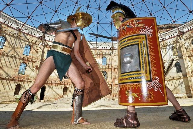Ist das die besterhaltene Grabstätte für Gladiatoren?
