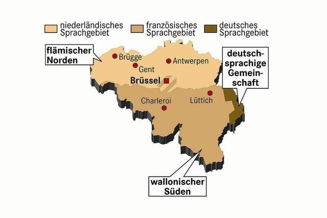 Belgien zerfällt immer mehr