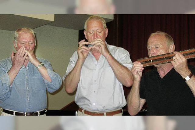 Drei Mann, 16 Instrumente