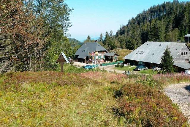 Die Zastlerhütte am Feldberg vermittelt viel alpines Flair