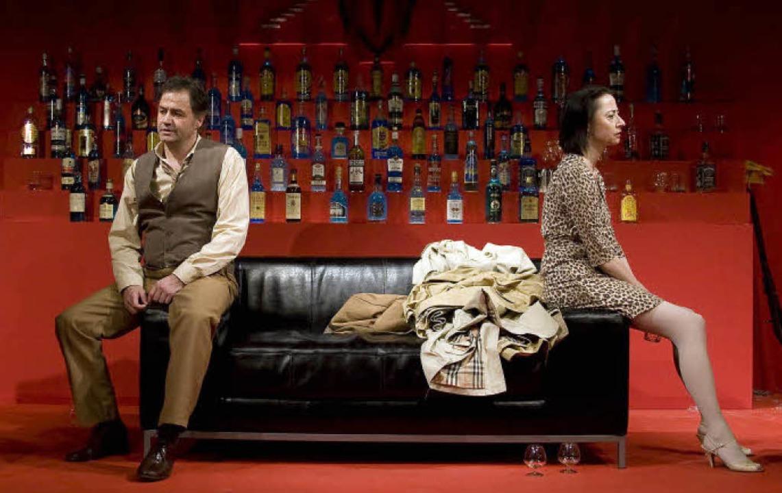 Vollblutschauspieler  und Theaterleite...ide: Hans Poeschl und Regine Effinger   | Foto: BZ