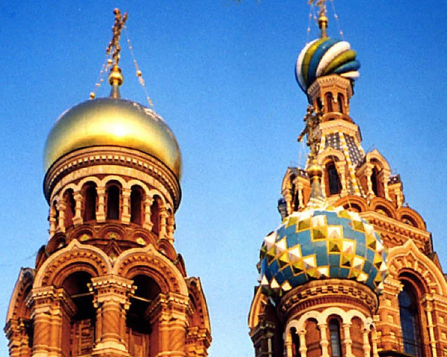 Russische Skizzen: St. Petersburg, das...iente für das Philharmonische Programm  | Foto: gms
