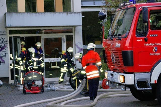 Bildungszentrum: Brandschutz hat Defizite